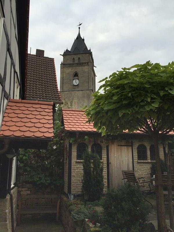 Terrasse-Kirchturm